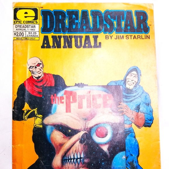 Dreadstar annual 1 1983 comic book